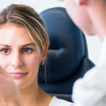 Boca Family Eye Care doctor and patient